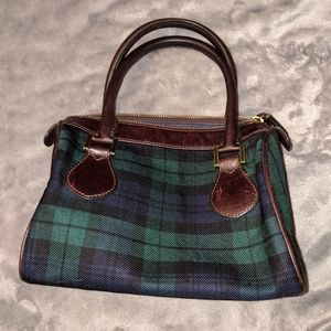 Adorable J. Crew wool and leather purse
